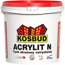 KOSBUD ACRYLIT-N Штукатурка акриловая машинного нанесения, барашек, база, 25 кг