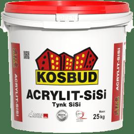 KOSBUD ACRYLIT-SISI Штукатурка силикатно-силиконовая, барашек, база, 25 кг