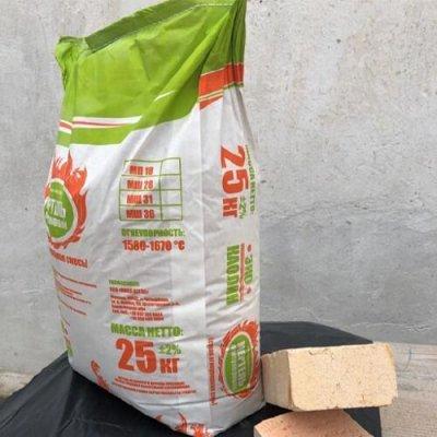 Мертель шамотный МШ-28 (25 кг) Четырбоки, Нова Цегла