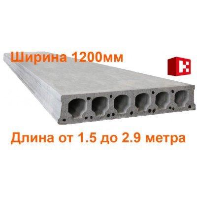 Плиты перекрытия Безопалубного формования длиной 1.5-2.9 метра