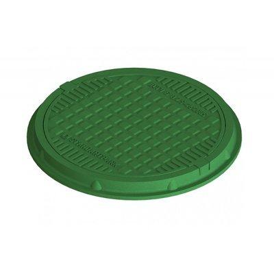 Люк 1 т зеленый 30297-12