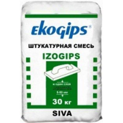 Штукатурка Изогипс Экогипс, мешок 25 кг