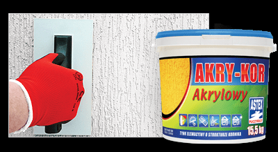 Astex AKRY-KOR штукатурка акриловая