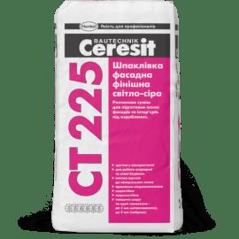 Ceresit CT 225 Шпаклевка фасадная финишная (светло-серая) 25кг