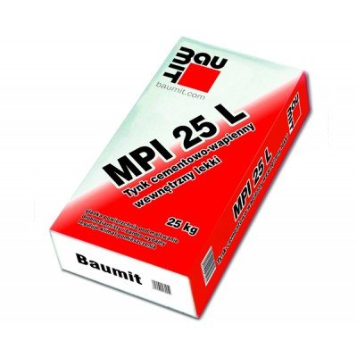 Baumit MPI 25 L Штукатурка 25кг