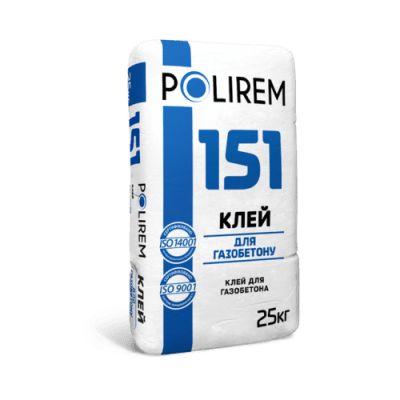 Polirem 151 Клей для газоблока
