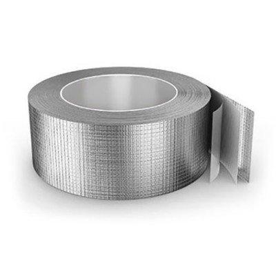 Скотч алюминиевый армированный 200 мк