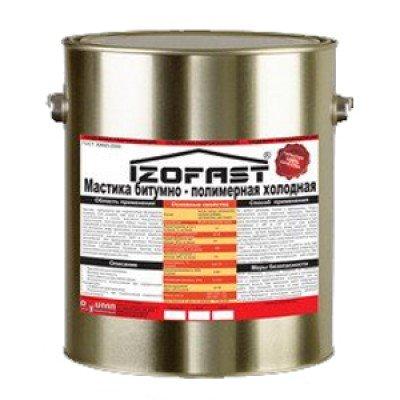 МАСТИКА битумно-полимерная IZOFAST
