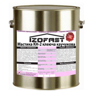 МАСТИКА КЛЕЯЩАЯ КАУЧУКОВАЯ КН-2 IZOFAST