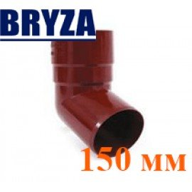 Колено трубы 67 град. 150 мм BRYZA