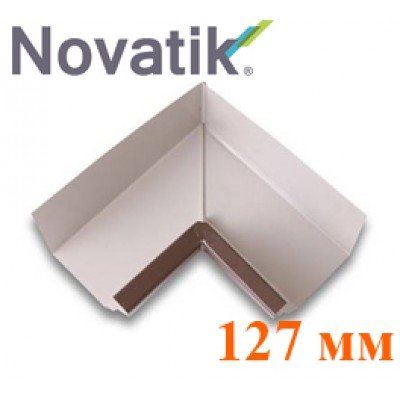 Внутренний угол 127 мм Novatik Quadra