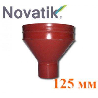 Воронка водосборная 125 мм Novatik Ronda