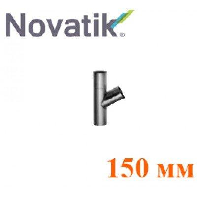 Тройник 150 мм Novatik TiZn Титан-Цинк