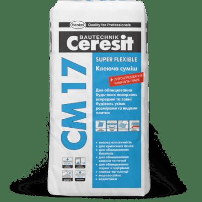 Ceresit СМ 17 Клеящая смесь Super flexible