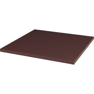 Гладкая базовая плитка Natural Brown 300x300 толщина 11мм