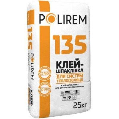 Polirem 135 Клей-шпаклевка для систем теплоизоляции