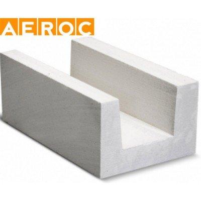 Газоблок Aeroc U-блок