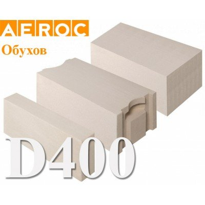 Газоблок Aeroc D400, Обухов