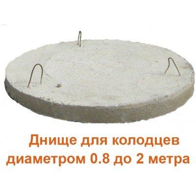 Днища для колодцев диаметром от 0.8 до 2 метра (Частное Производство)