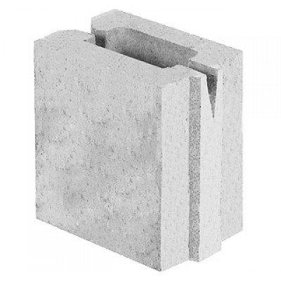 Блок керамзитобетонный перегородочный (165x188x115)