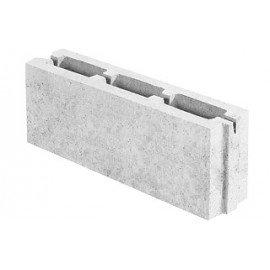 Блок керамзитобетонный перегородочный (115х188х500)