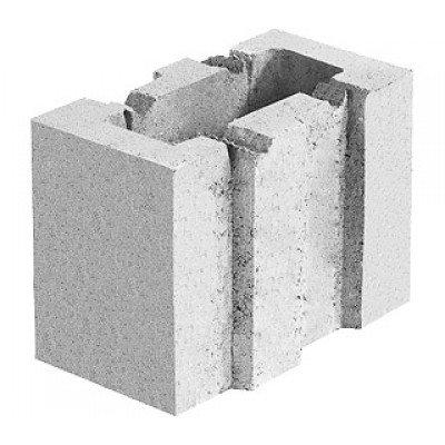 Блок керамзитобетонный стеновой (133х188х250)