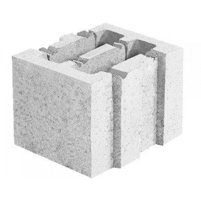 Блок керамзитобетонный стеновой (199x188x250)