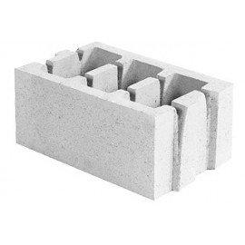 Блок керамзитобетонный стеновой (250x188x400)