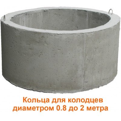 Кольца для колодца диаметром от 0.8 до 2 метра (Частное Производство)