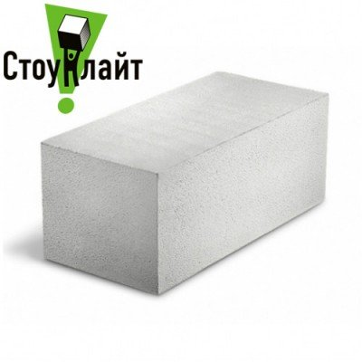 Газобетон Стоунлайт Гладкий 500х200х600 D400/D500