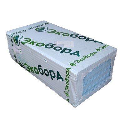Экструдированный пенополистирол Экоборд толщина 20-50мм