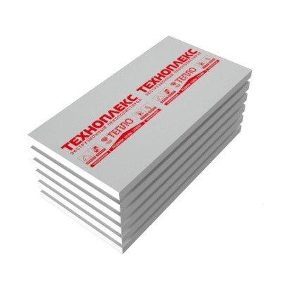 Экструдированный пенополистирол ТЕХНОПЛЕКС толщина 20-50мм