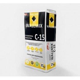 WALLMIX C-15 Штукатурка цементная 25кг