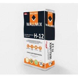 WALLMIX H-12 Шпаклевка цементная финишная белая 15кг