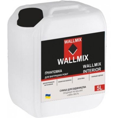 WALLMIX Interior 5 L Грунтовка