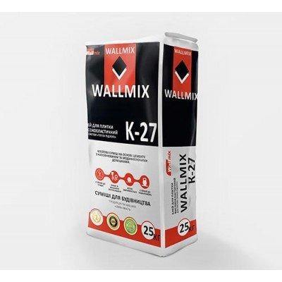 WALLMIX К-27 Клей для плитки высокоэластичный