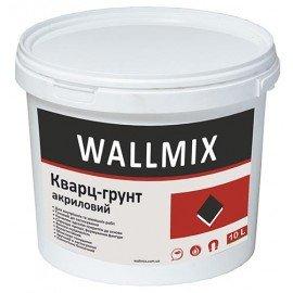 WALLMIX Кварц-грунт акриловый 10 L Грунтовка